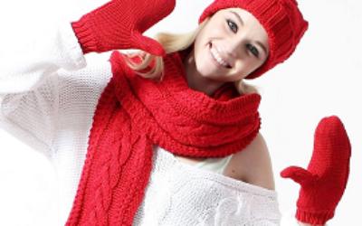 Нюансы при выборе зимнего комплекта из шапки, перчаток и шарфа