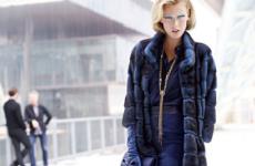 Стильные шубы графитового цвета: модные модели 2019-2020