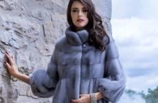 Норковые шубы в цвете сапфир: фото модных моделей 2018-2019