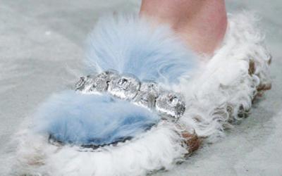 Мех — самый модный материал для отделки обуви