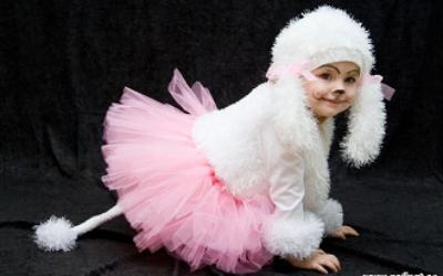 Шьем новогодний костюм для ребенка своими руками