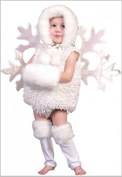 Костюм снежинки для девочки