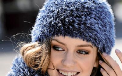 Зимний комплект: снуд и шапка. Вязание спицами