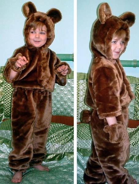 Как сделать костюм медведь 200