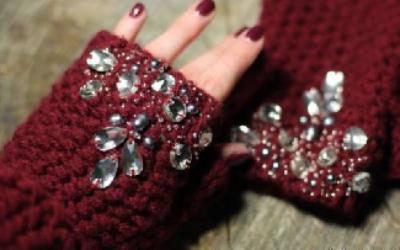 Стильные перчатки без пальцев — в мороз, жару, для красоты.