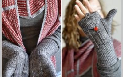 Как связать спицами перчатки с откидным верхом? Мастер класс пошагово