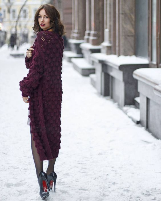 f8eb65dea07 ... вязание спицами для женщин модные модели 2018 года с описанием