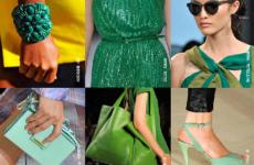 С чем носить зеленый цвет летом 2019?