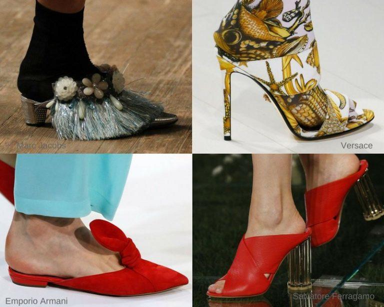 Обувь мулы