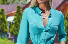Платье-рубашка – новинки 2019 года