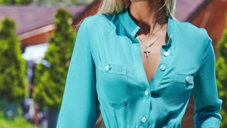 Платье-рубашка – новинки 2021 года