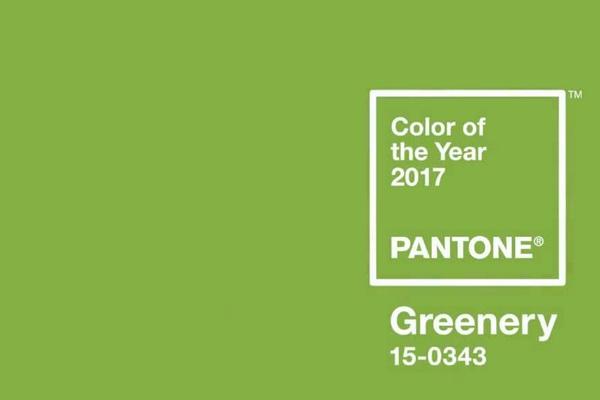Зеленый цвет по Пантон