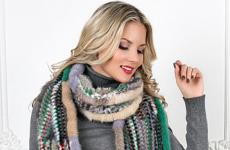 Какой норковый шарф выбрать и с чем его носить?
