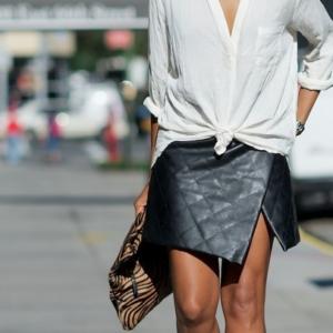 Юбка с запахом: стильные решения, модные модели, как пошить самой
