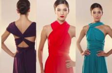 Платье-трансформер — одежда будущего!