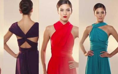 Платье-трансформер – одежда будущего!