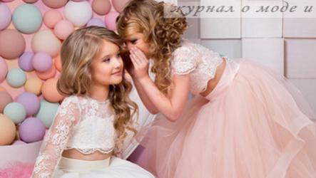 Выпускные платья для девочек в детском саду и на выпускной в начальной школе  в 2019 году