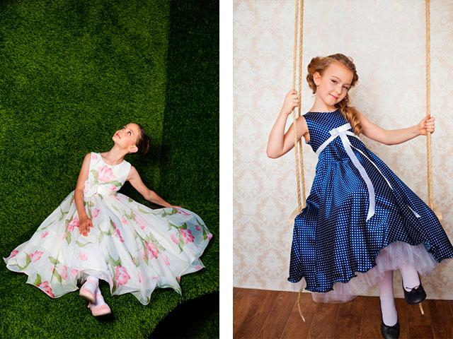 платье на выпускной 4 класс на 10-11 лет