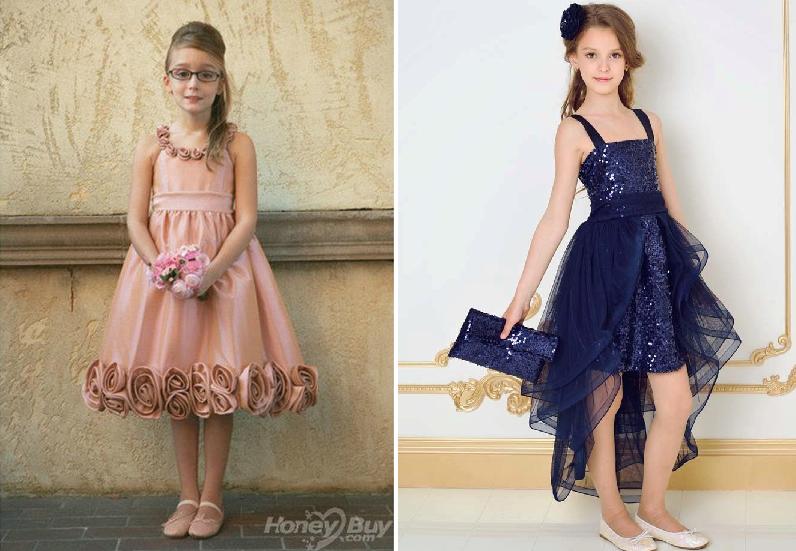 Платье на выпускном в 4 классе в начальной школе для девочек 10-11 лет фото