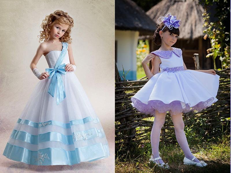Модные платья на выпускной в детсад