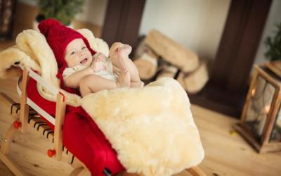 Как выбрать подходящий меховой конверт для новорожденного