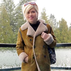 С чем носить дубленку: модные образы