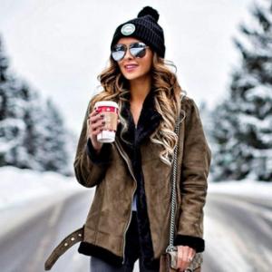 Кому носить дубленку-косуху и если носить, то с чем? Стильные образы для зимы 2018-2019
