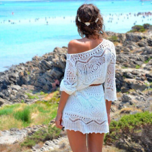 Модные цвета кружевных платьев