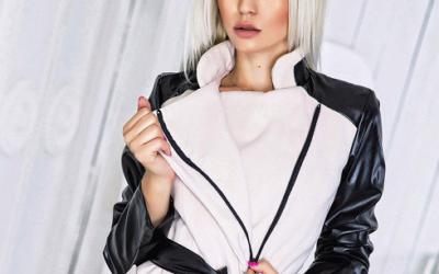Женское пальто на молнии: модели с капюшоном и без него