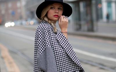 Женское пальто в клетку 2019: с чем носить модные модели сезона
