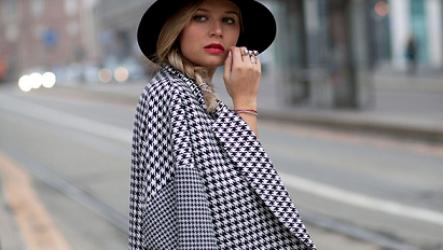 Женское пальто в клетку 2020: с чем носить модные модели сезона