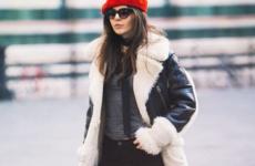 Молодежные дубленки — модные тенденции осень-зима 2018-2019