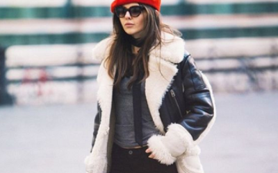 Молодежные дубленки — модные тенденции осень-зима 2019-2020