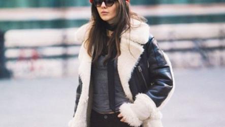 Молодежные дубленки — модные тенденции осень-зима 2020-2021