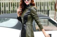Стильное пальто из экокожи — новый тренд предстоящего сезона