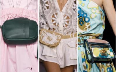 Поясные сумки 2018: с чем носить