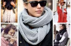Модные шарфы осень-зима 2020-2021