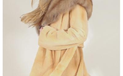 Шубы из стриженной норки: преимущества моделей