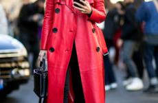 Красный плащ для создания стильного лука: фото идеи