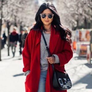 Красное пальто 2018 – хит этого сезона!