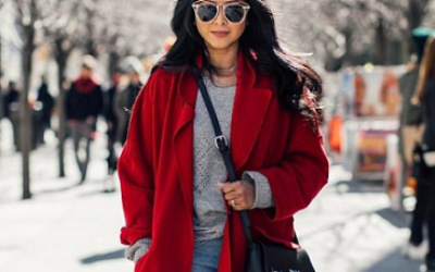 Красное пальто 2018 — хит этого сезона!