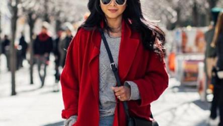 Красное пальто 2020 — хит этого сезона!