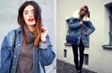 Джинсовый плащ 2019 — фото подборка стильных образов