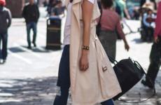 C чем носить пальто без рукавов: фото 2020, тенденции, образы
