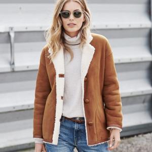 Тонкие дубленки для межсезонья: модные модели 2018-2019