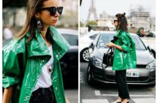 Женский плащ-дождевик: с чем носить осенью 2018? 100 фото-идей