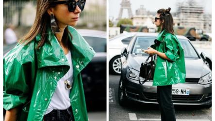 Женский плащ-дождевик: с чем носить весной 2020? 100 фото-идей