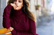 Модные вязаные платья 2018-2019 — фото, новинки