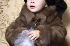 Детские шубы из натурального меха
