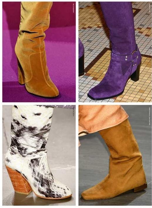 Женская обувь на осень 2018-2019 фото